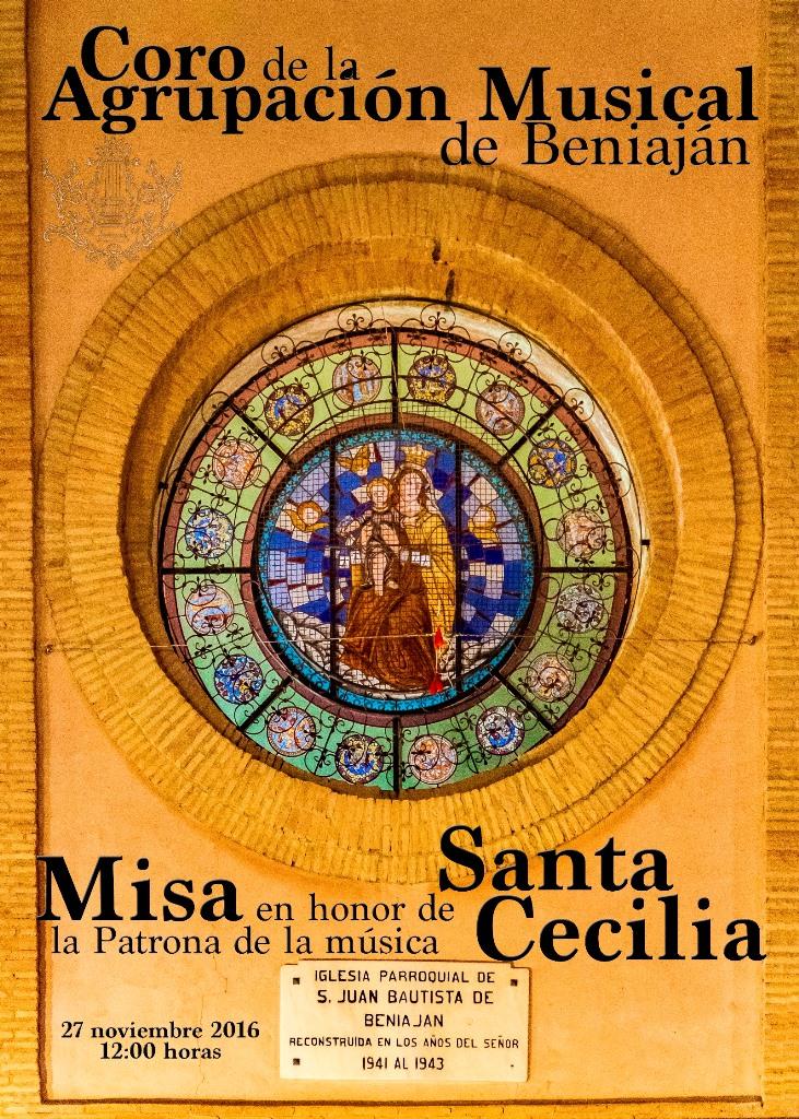 Concierto Santa Cecilia 2016 Coro de adultos