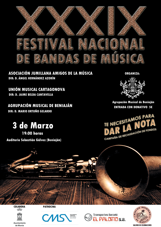 XXXIX Festival de Bandas de Música 2018