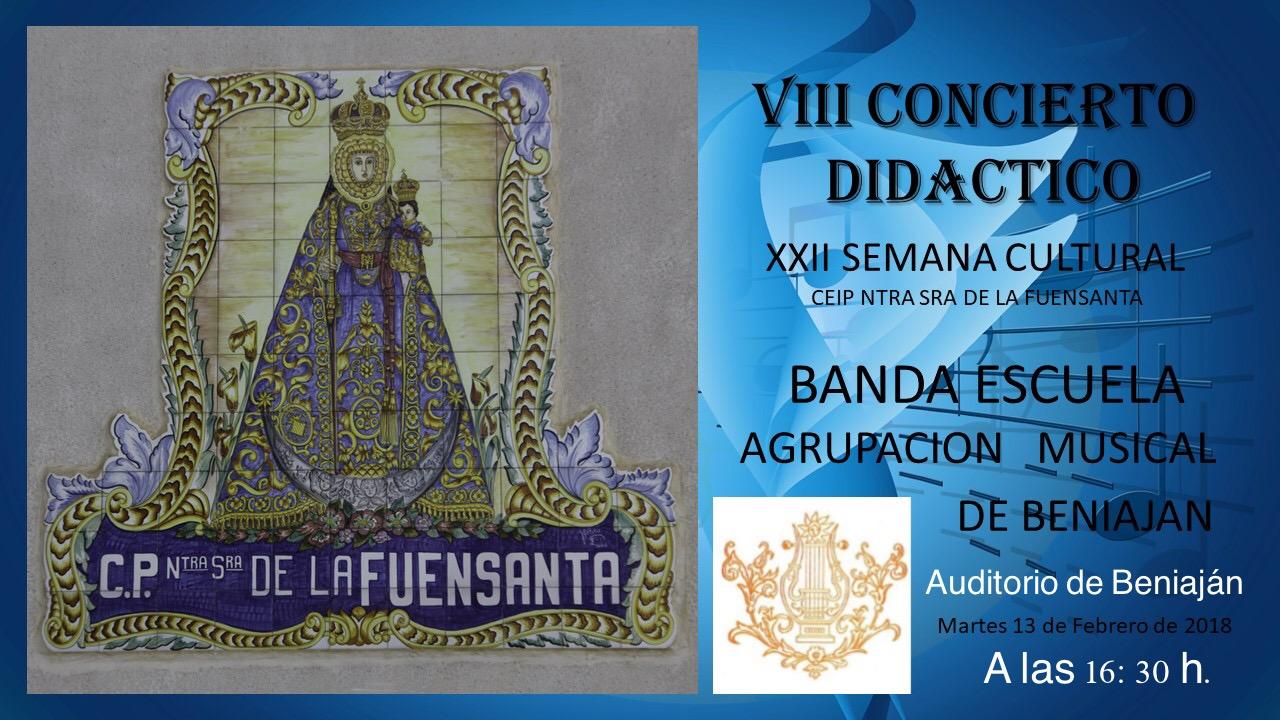 VIII Concierto Didactico Banda Escuela