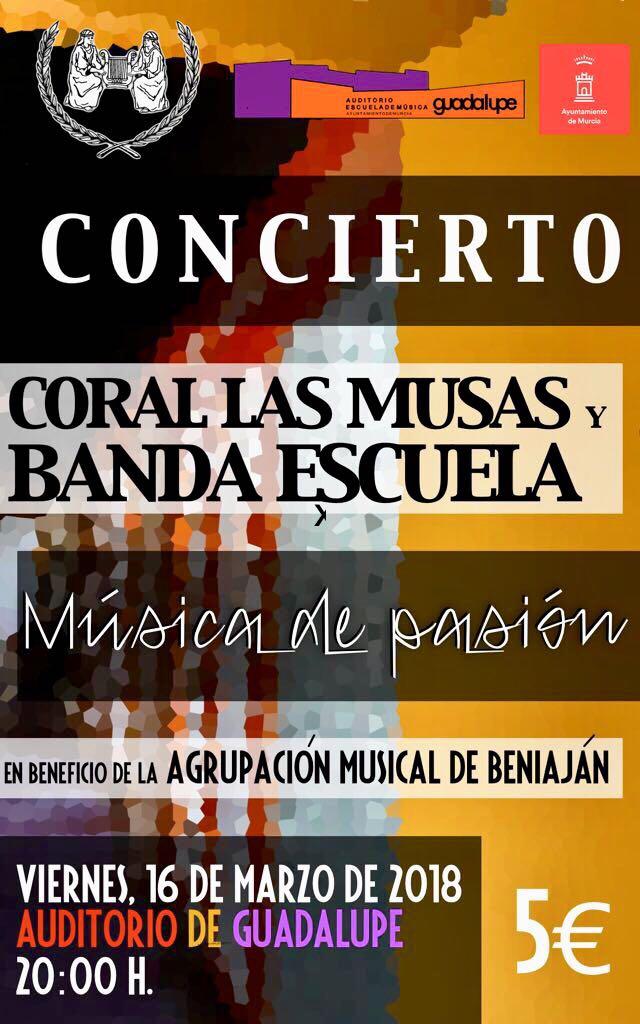 Concierto  Coral Las Musas y Banda escuela