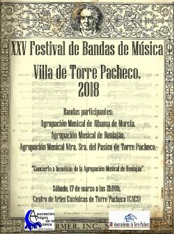 XXV Festival de Bandas de Música Villa de Torre Pacheco